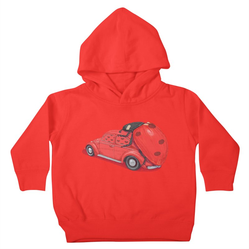 miniatures love Kids Toddler Pullover Hoody by makapa's Artist Shop