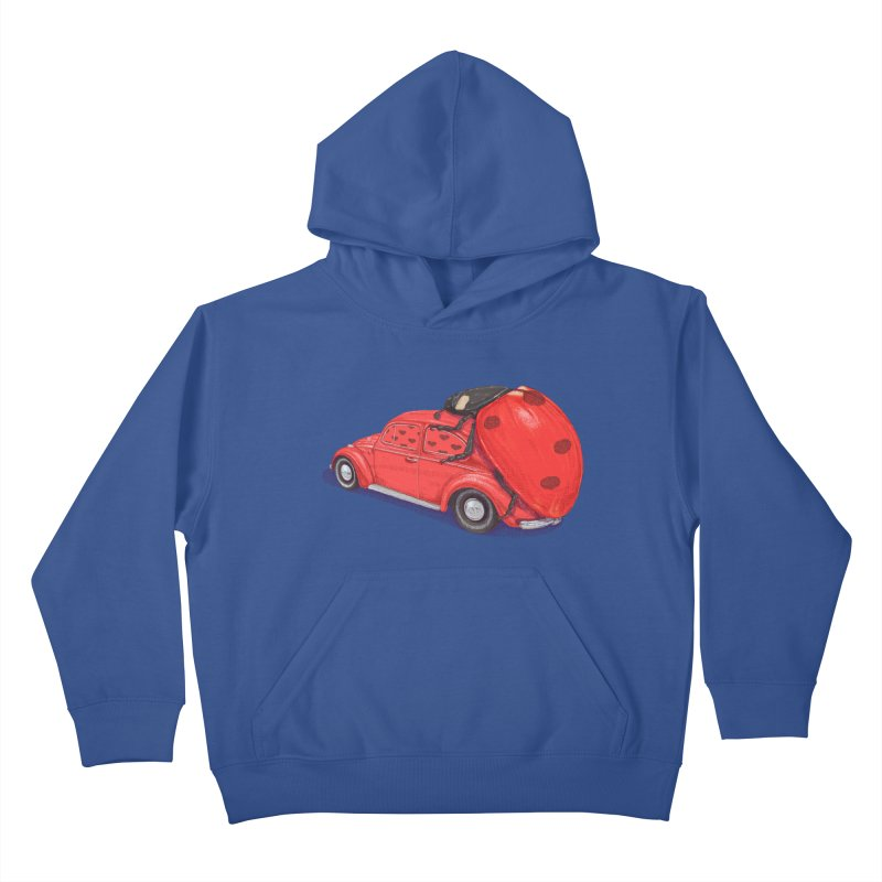 miniatures love Kids Pullover Hoody by makapa's Artist Shop