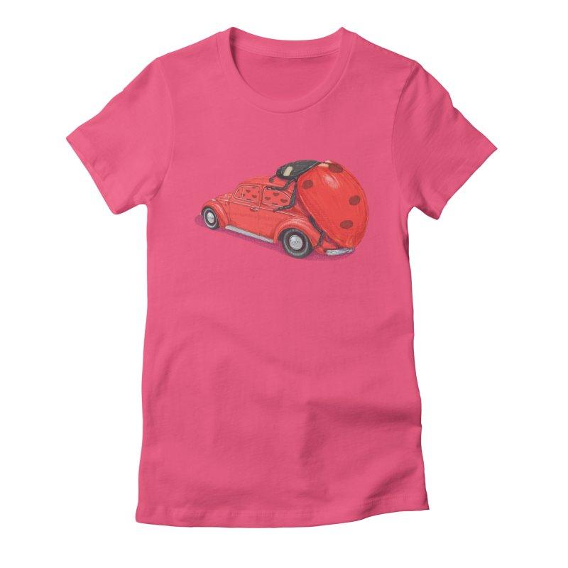 miniatures love Women's Fitted T-Shirt by makapa's Artist Shop