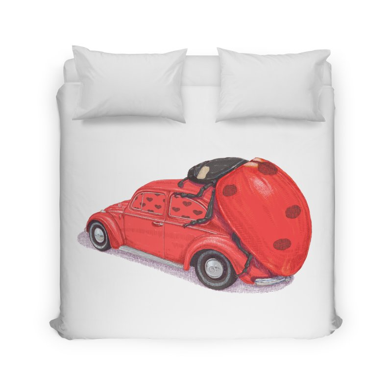 miniatures love Home Duvet by makapa's Artist Shop