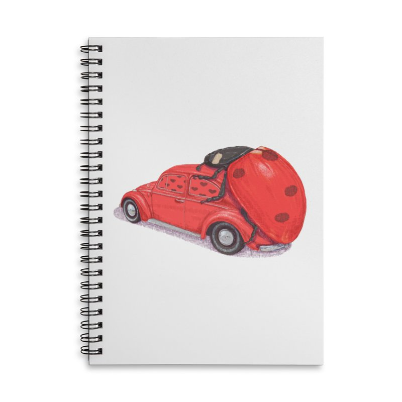 miniatures love Accessories Lined Spiral Notebook by makapa's Artist Shop
