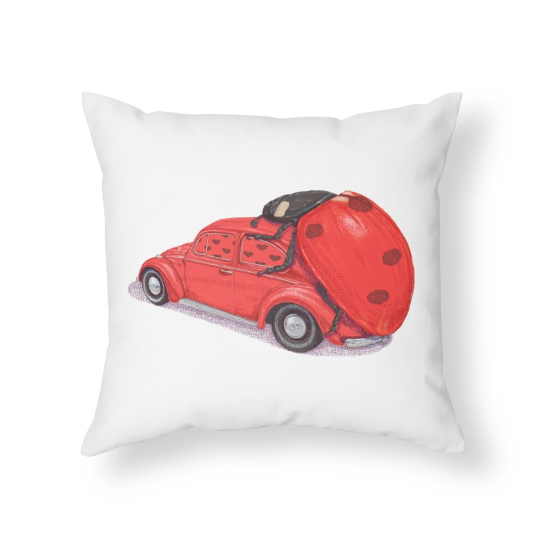 miniatures love Home Throw Pillow by makapa's Artist Shop