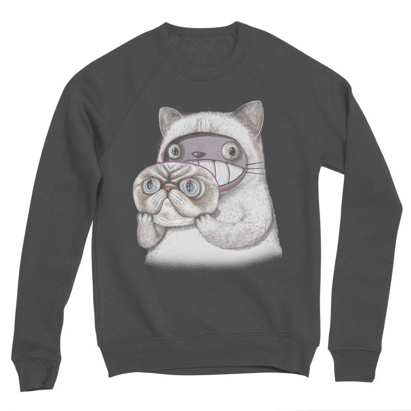 cheeze Women's Sponge Fleece Sweatshirt by makapa's Artist Shop