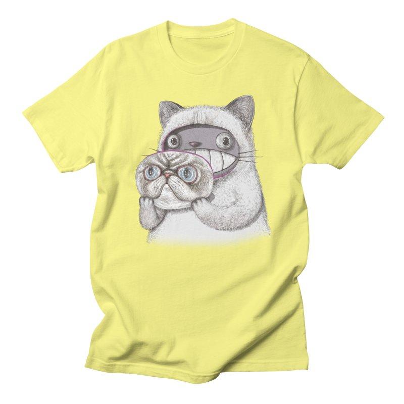 cheeze Men's T-Shirt by makapa's Artist Shop