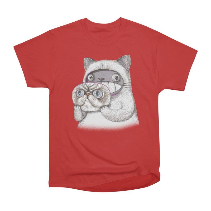 cheeze Men's Heavyweight T-Shirt by makapa's Artist Shop