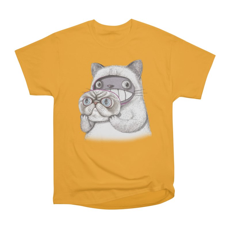 cheeze Men's T-Shirt by makapa's Artist Shop