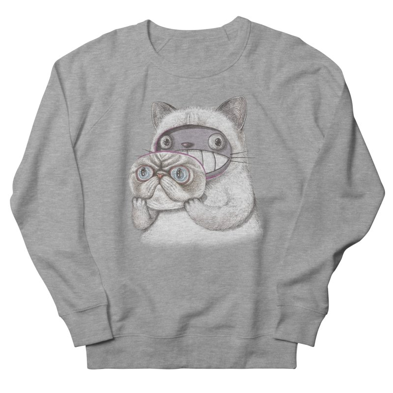 cheeze Women's French Terry Sweatshirt by makapa's Artist Shop