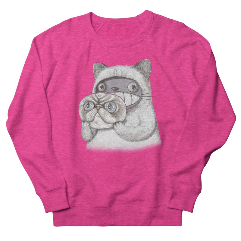 cheeze Men's French Terry Sweatshirt by makapa's Artist Shop