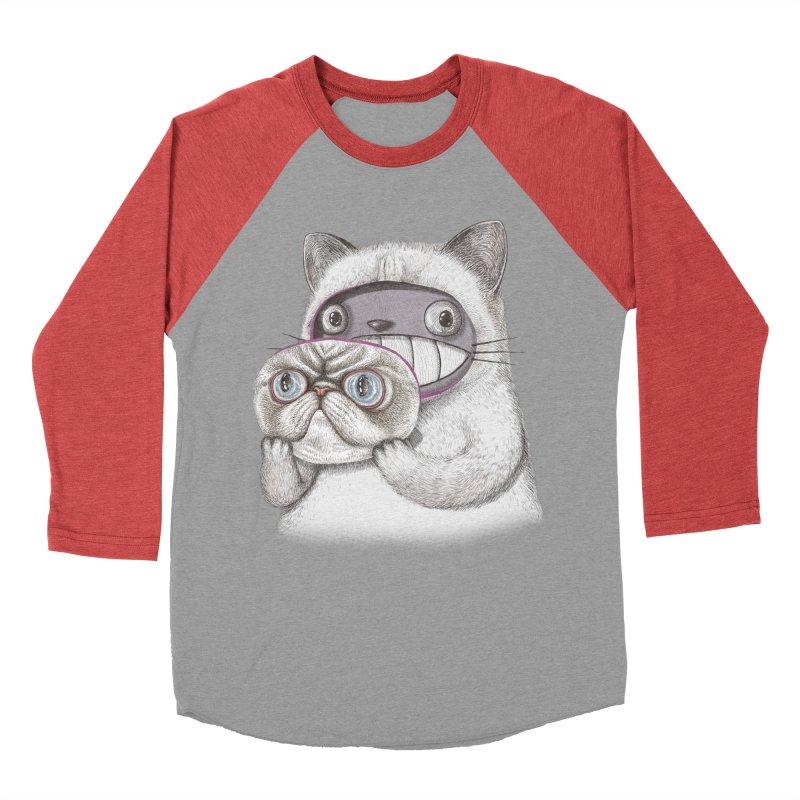 cheeze Women's Baseball Triblend Longsleeve T-Shirt by makapa's Artist Shop