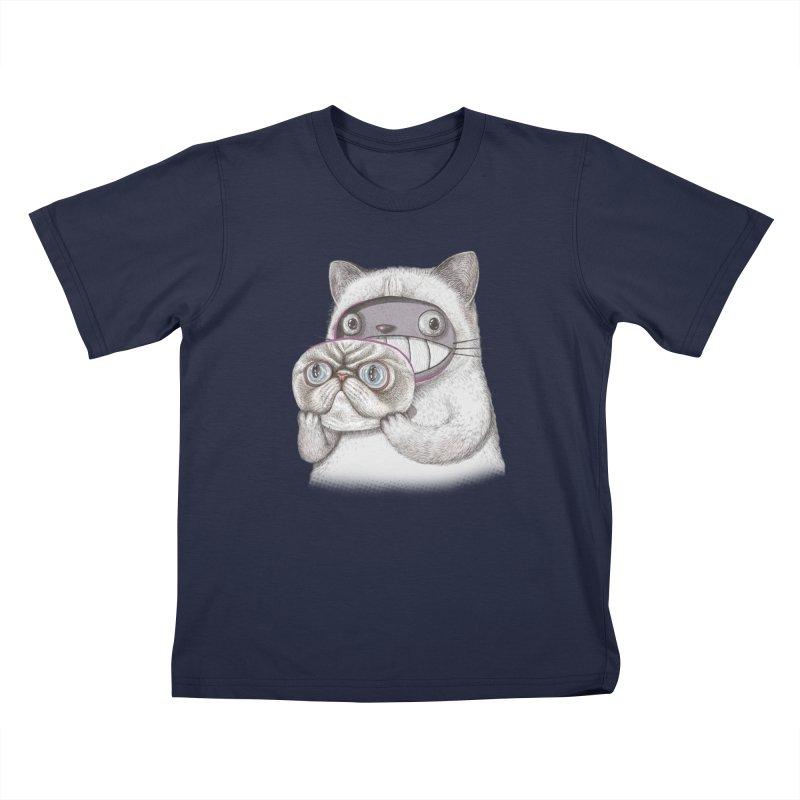 cheeze Kids T-Shirt by makapa's Artist Shop