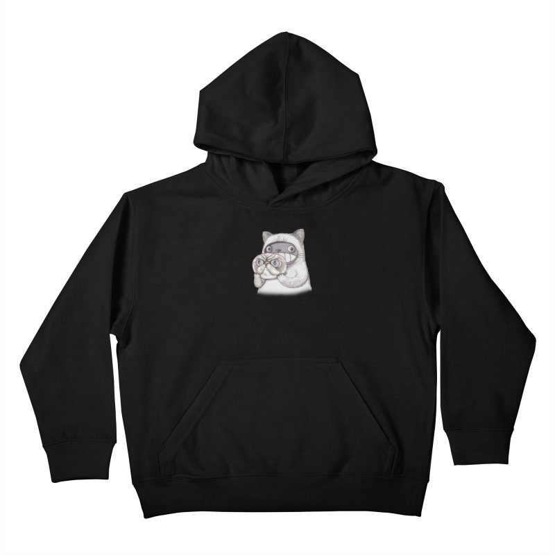 cheeze Kids Pullover Hoody by makapa's Artist Shop