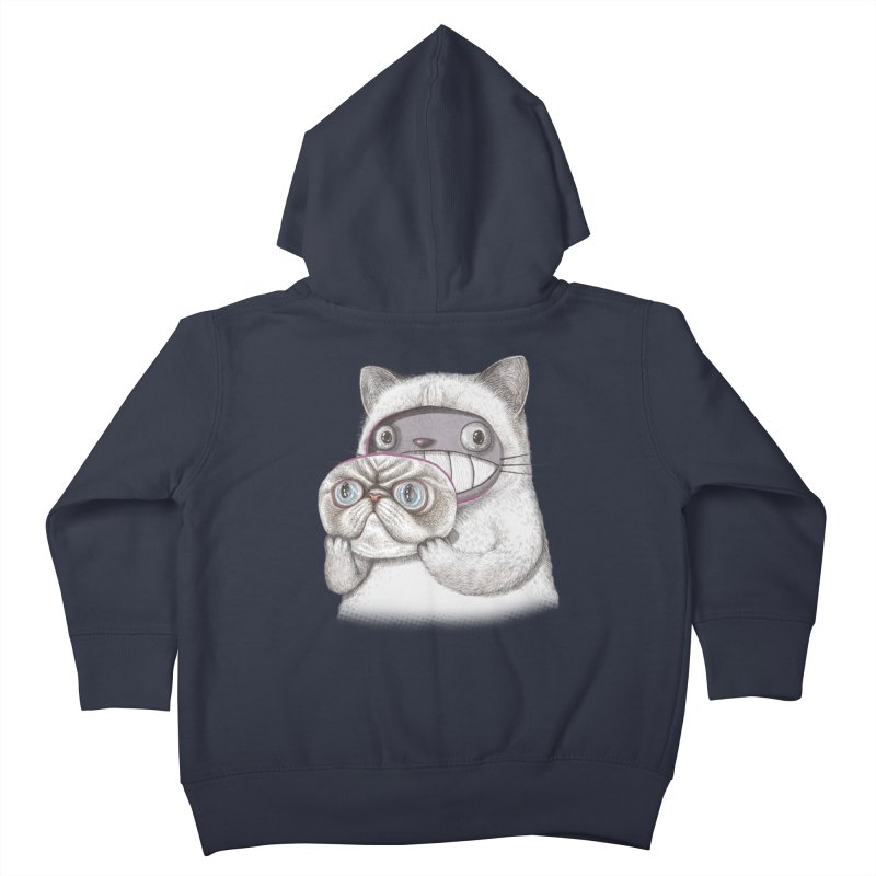 cheeze Kids Toddler Zip-Up Hoody by makapa's Artist Shop