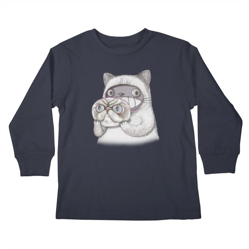 cheeze Kids Longsleeve T-Shirt by makapa's Artist Shop