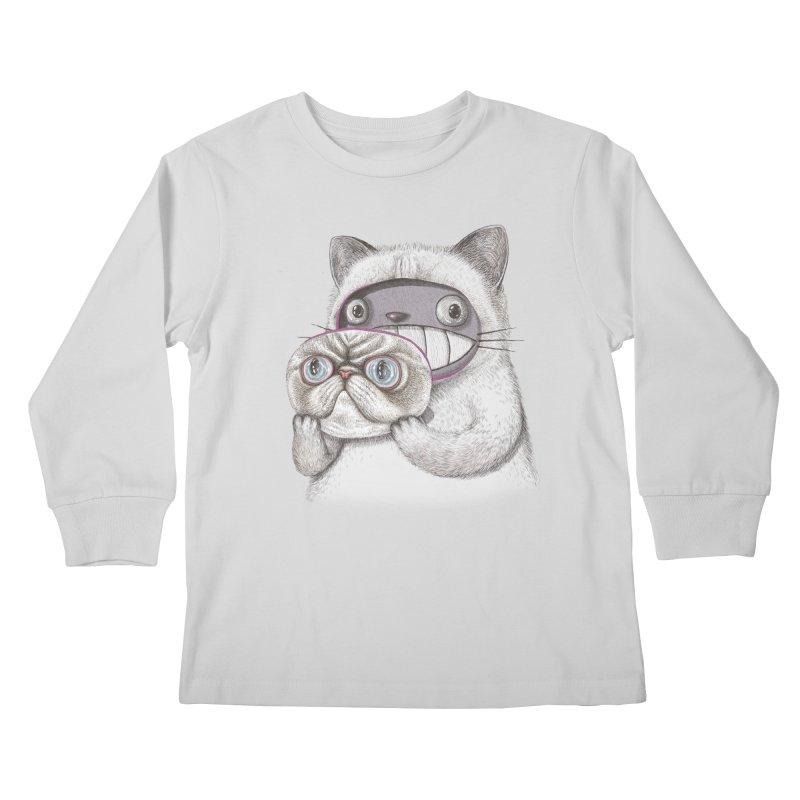 cheeze Kids Longsleeve T-Shirt by makapa's Artist Shop