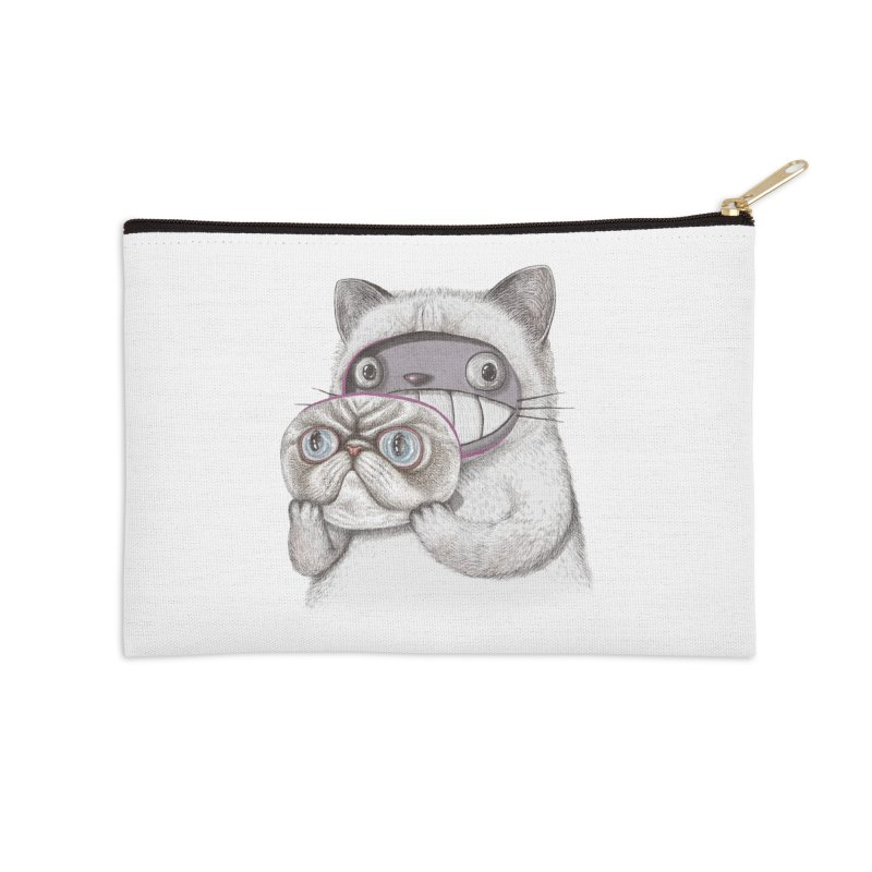 cheeze Accessories Zip Pouch by makapa's Artist Shop