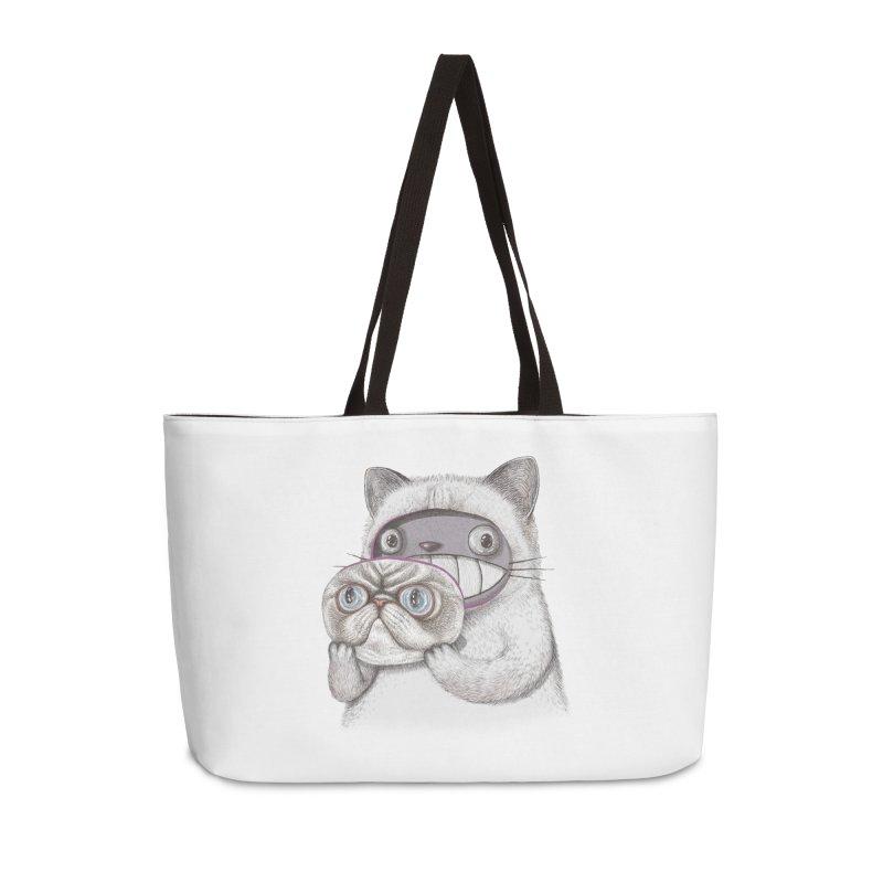 cheeze Accessories Weekender Bag Bag by makapa's Artist Shop