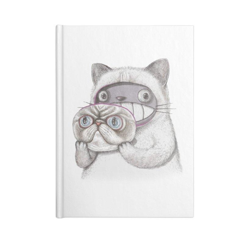 cheeze Accessories Lined Journal Notebook by makapa's Artist Shop