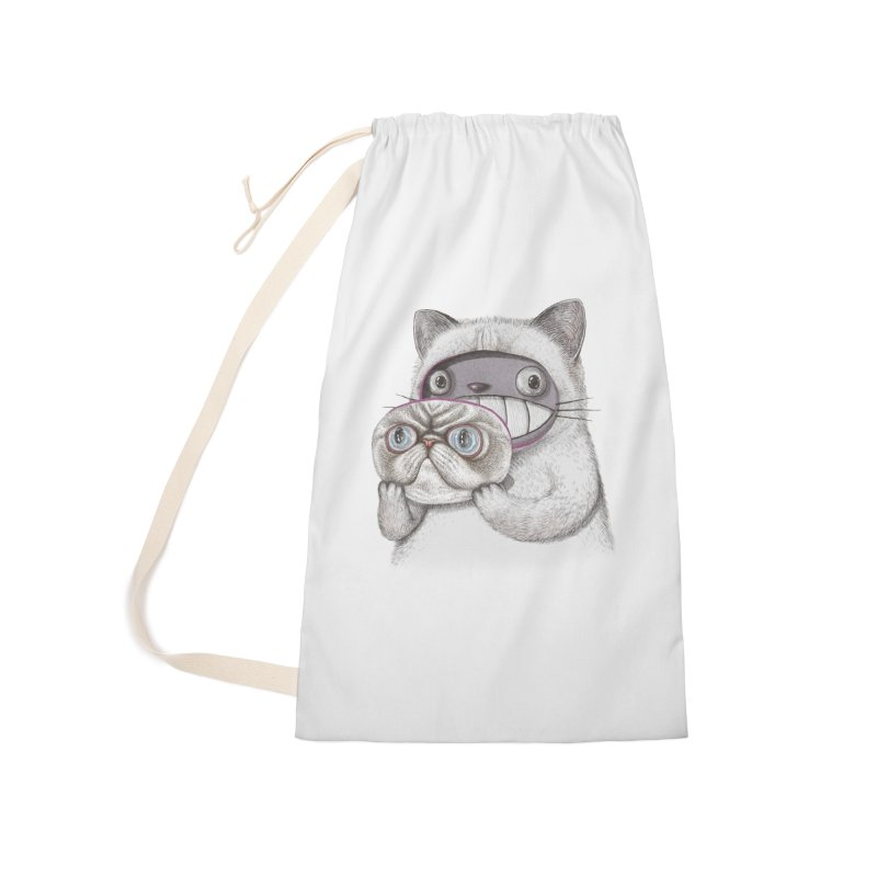 cheeze Accessories Laundry Bag Bag by makapa's Artist Shop