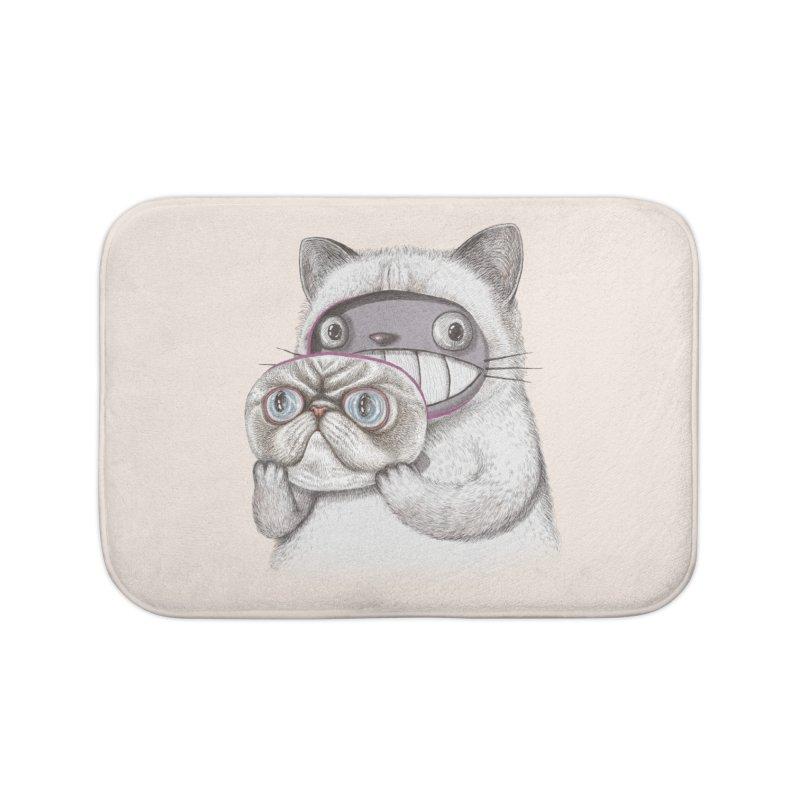 cheeze Home Bath Mat by makapa's Artist Shop