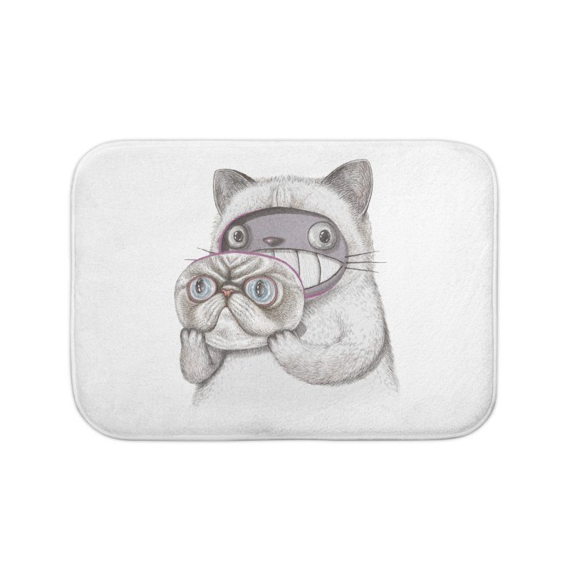 cheeze Home Bath Mat by makapa's Artist Shop