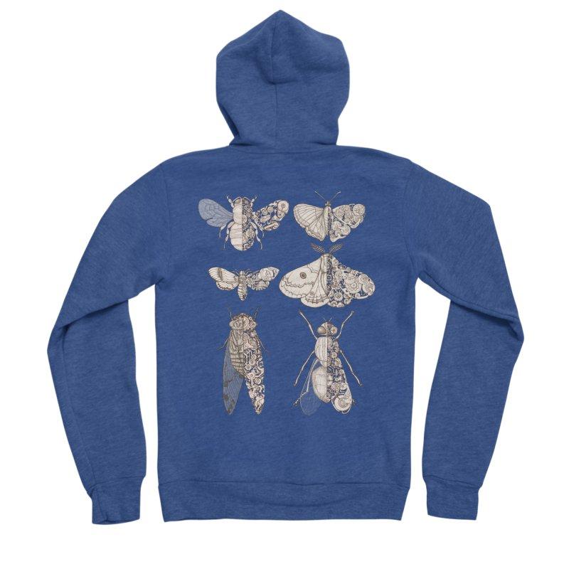 sci-fly collection Men's Sponge Fleece Zip-Up Hoody by makapa's Artist Shop