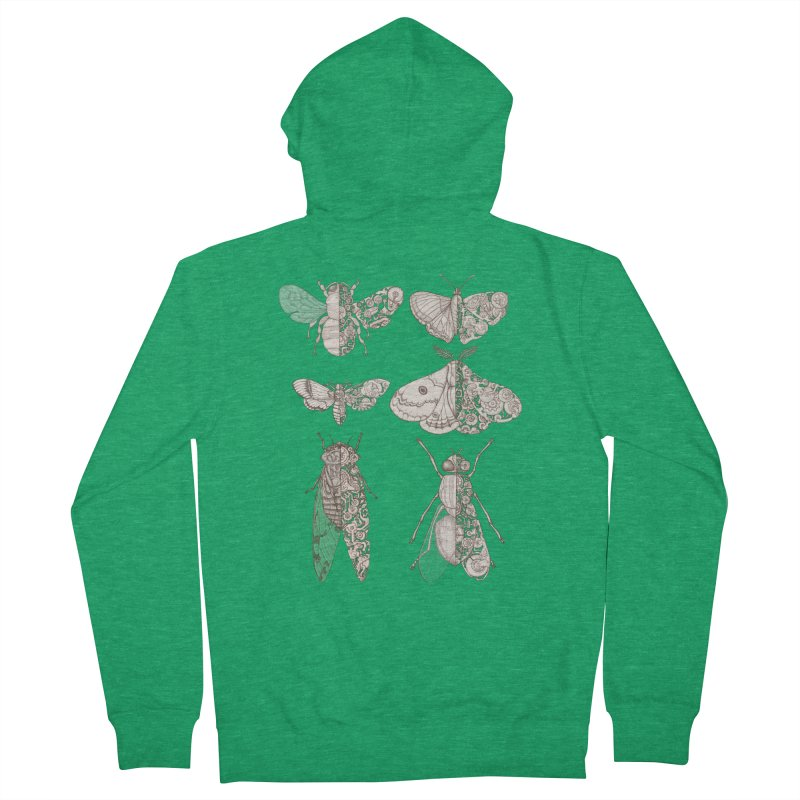 sci-fly collection Women's Zip-Up Hoody by makapa's Artist Shop
