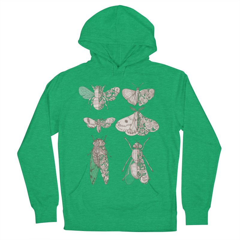 sci-fly collection Men's French Terry Pullover Hoody by makapa's Artist Shop
