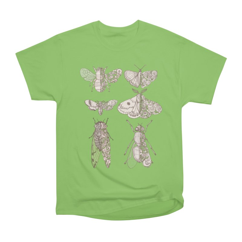 sci-fly collection Men's Heavyweight T-Shirt by makapa's Artist Shop