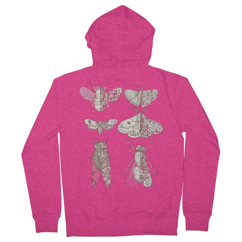 sci-fly collection Women's French Terry Zip-Up Hoody by makapa's Artist Shop