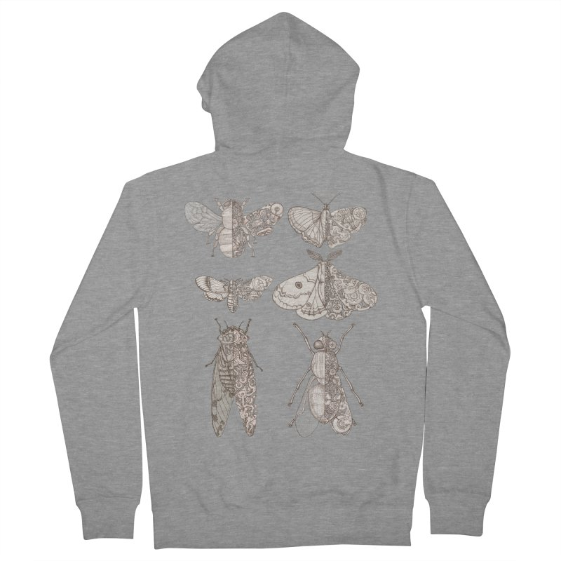 sci-fly collection Men's French Terry Zip-Up Hoody by makapa's Artist Shop