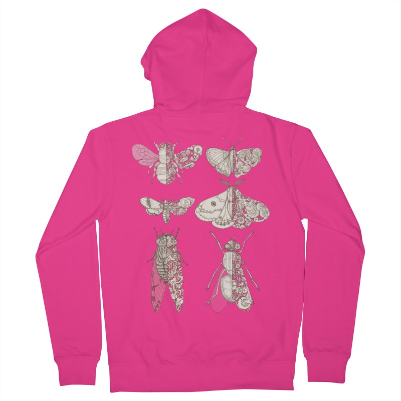 sci-fly collection Men's Zip-Up Hoody by makapa's Artist Shop