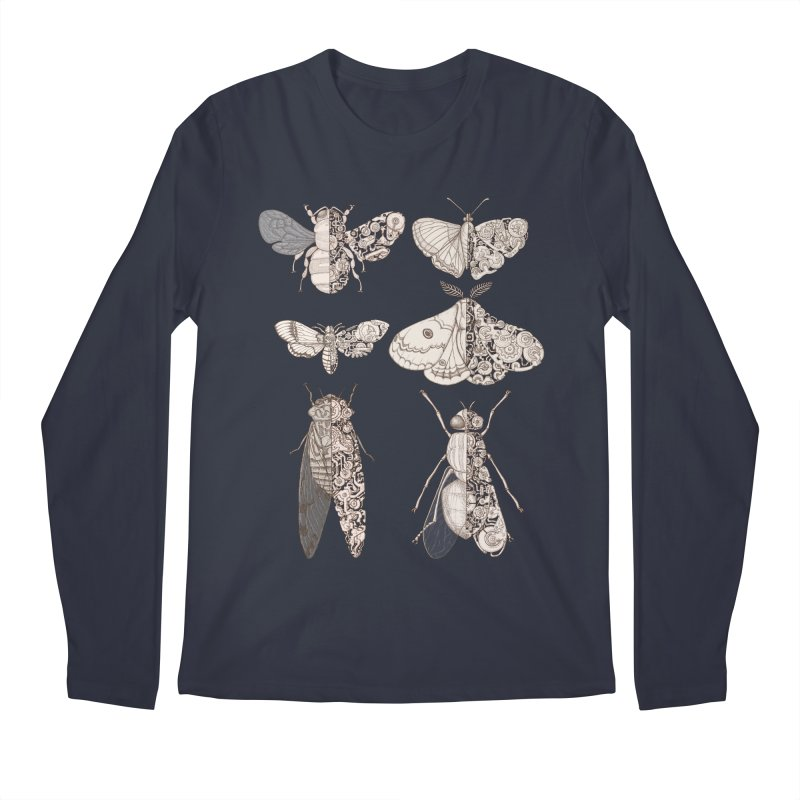 sci-fly collection Men's Regular Longsleeve T-Shirt by makapa's Artist Shop