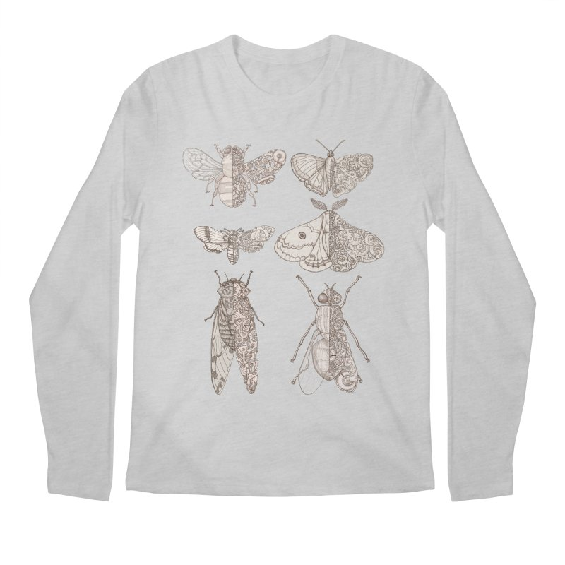 sci-fly collection Men's Longsleeve T-Shirt by makapa's Artist Shop