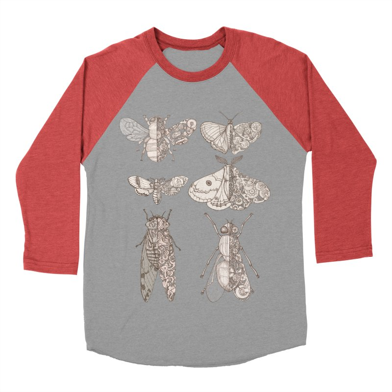 sci-fly collection Women's Baseball Triblend Longsleeve T-Shirt by makapa's Artist Shop
