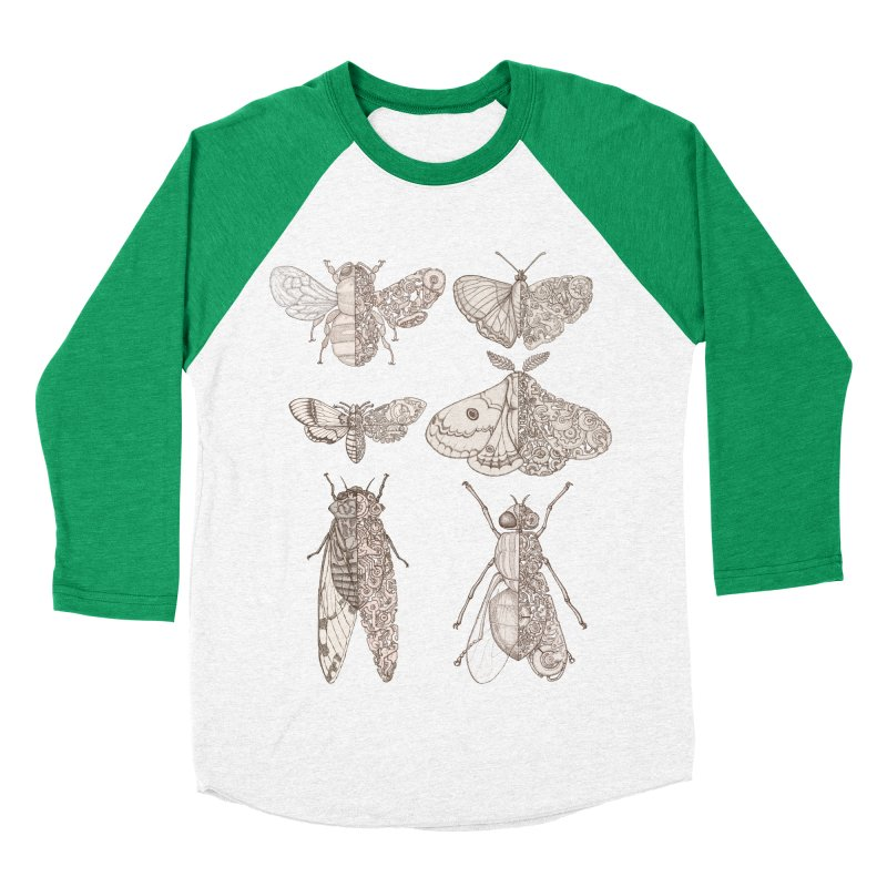 sci-fly collection Men's Baseball Triblend Longsleeve T-Shirt by makapa's Artist Shop