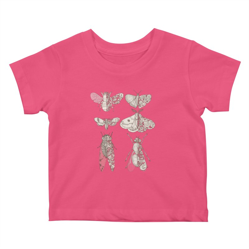 sci-fly collection Kids Baby T-Shirt by makapa's Artist Shop