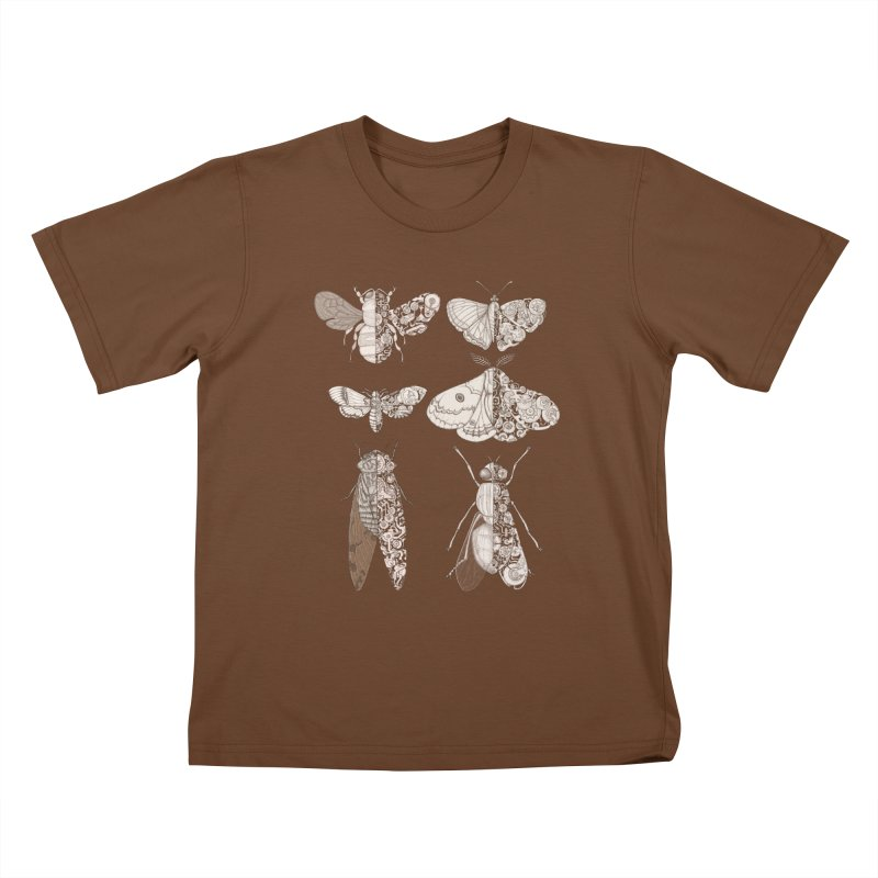 sci-fly collection Kids T-Shirt by makapa's Artist Shop