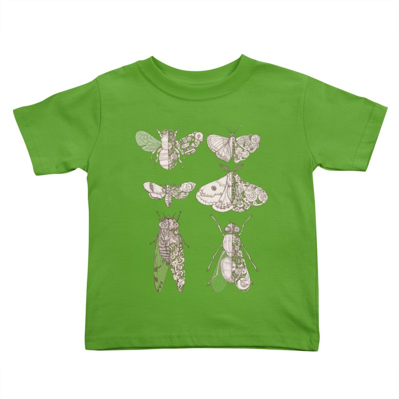sci-fly collection Kids Toddler T-Shirt by makapa's Artist Shop