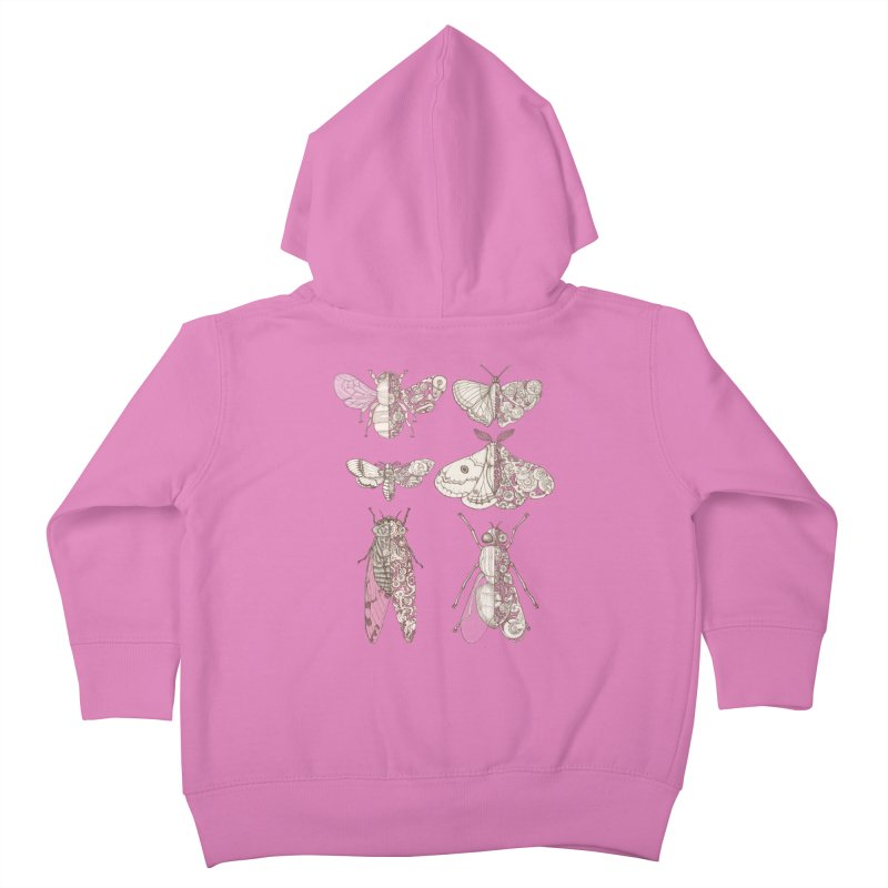 sci-fly collection Kids Toddler Zip-Up Hoody by makapa's Artist Shop