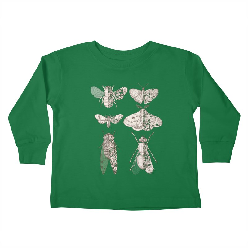 sci-fly collection Kids Toddler Longsleeve T-Shirt by makapa's Artist Shop