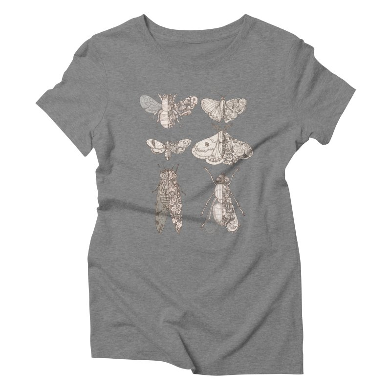 sci-fly collection Women's Triblend T-Shirt by makapa's Artist Shop
