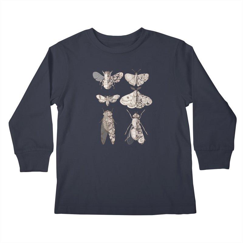 sci-fly collection Kids Longsleeve T-Shirt by makapa's Artist Shop