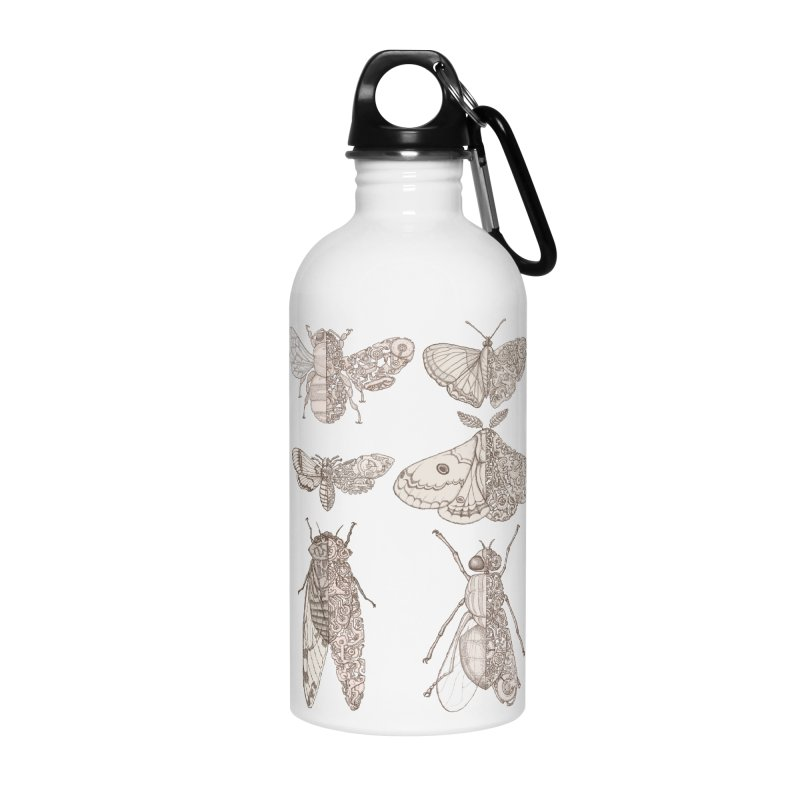 sci-fly collection Accessories Water Bottle by makapa's Artist Shop