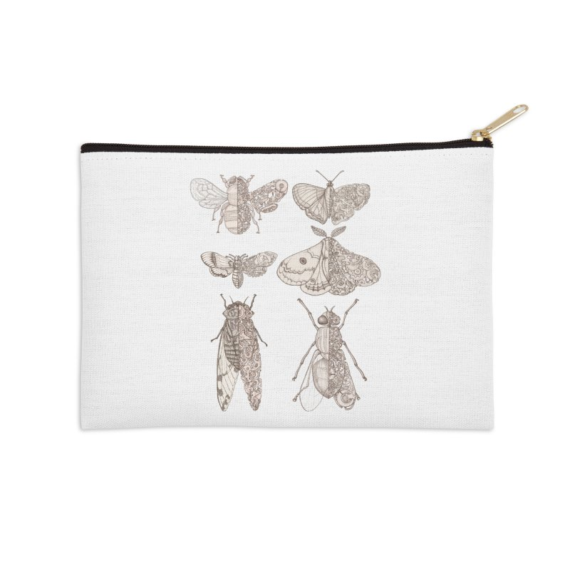 sci-fly collection Accessories Zip Pouch by makapa's Artist Shop