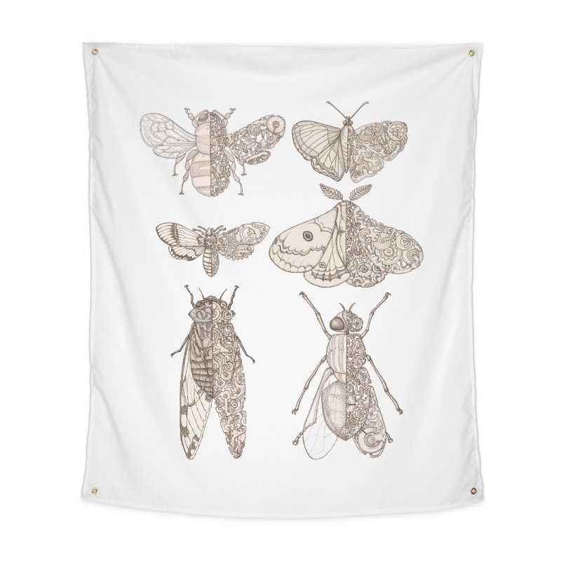 sci-fly collection Home Tapestry by makapa's Artist Shop