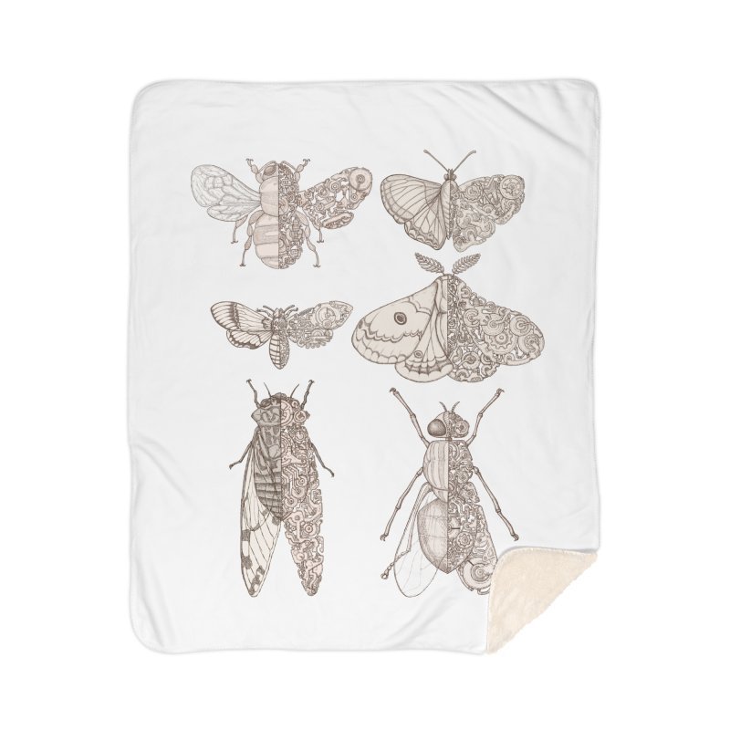 sci-fly collection Home Sherpa Blanket Blanket by makapa's Artist Shop