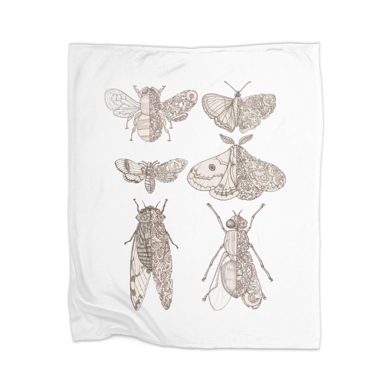 sci-fly collection Home Blanket by makapa's Artist Shop