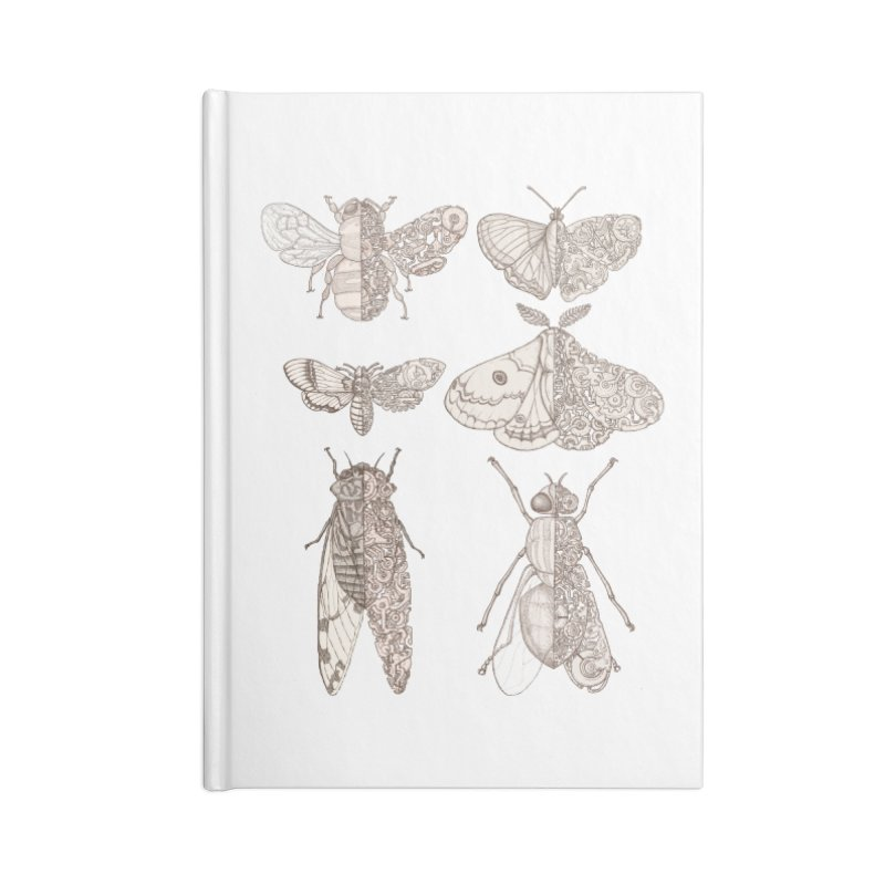 sci-fly collection Accessories Lined Journal Notebook by makapa's Artist Shop