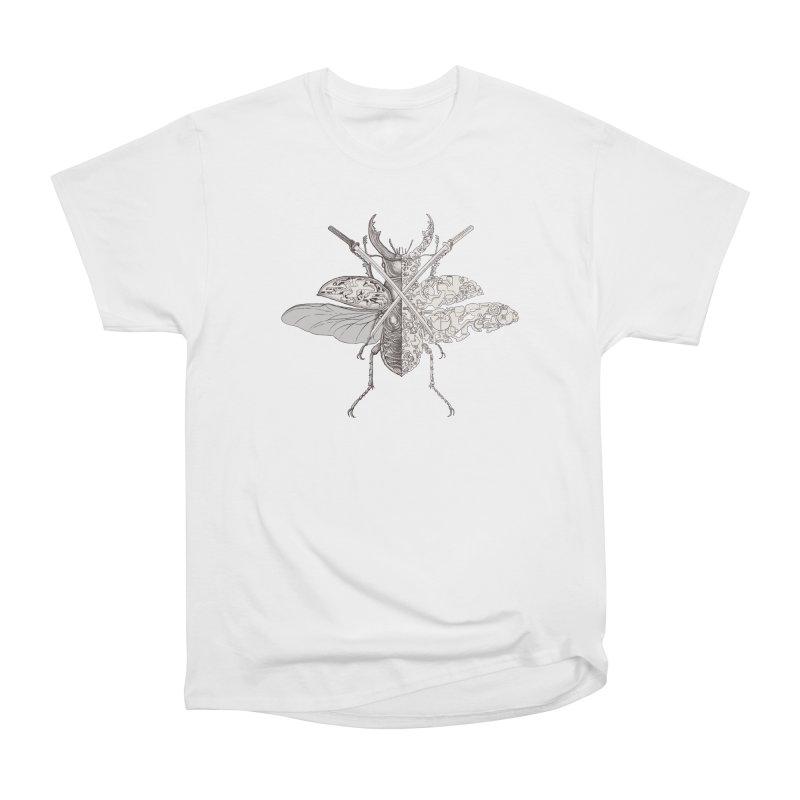 stag beetle samurai Women's Heavyweight Unisex T-Shirt by makapa's Artist Shop