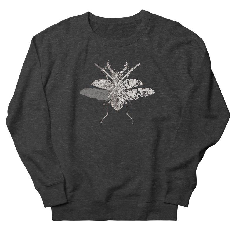 stag beetle samurai Women's Sweatshirt by makapa's Artist Shop